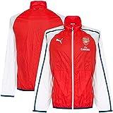 PUMA Herren Jacke AFC Anthem Jacket with Sponsor, High Risk Red-White-Estate Blue, XL