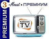 Kartina.TV 3 Monat Abo PREMIUM ohne Vertragsbindung Ruskoe TV Archiv Videothek HD TV