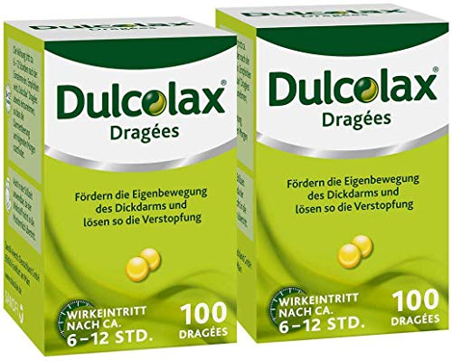 Sparset Dulcolax 2 x 100 Dragees Dose