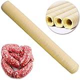 mooderff Collageenhoes worsthoes kunstdarm van soja-proteïne, 14 m x 20 mm Hot dog geroosterde gedroogde worst collageenverpa