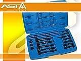 Candelette smontaggio Set di attrezzi 22pezzi Set M8e M10chiavi smontaggio estrattore pignone per zuffe Candeletta punte penna a incandescenza automobili spezialwerkzeug
