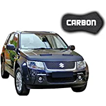 Black Bull Suzuki Grand Vitara 2 CARBON Protector del Capot Car Bra Bonnet Hood Tuning Coche Máscara NUEVO