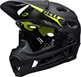 BELL Super DH MIPS, Casco da Ciclismo Unisex, Matt/Gloss Black, Medium (55-59 cm)