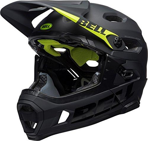 BELL Super DH MIPS Fahrrad Helm, Matt/Gloss Black, Medium (55-59 cm)