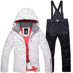 Mitef wasserdichte Winddichte Outdoor Schneeanzug Jacke und Hose Set für Damen