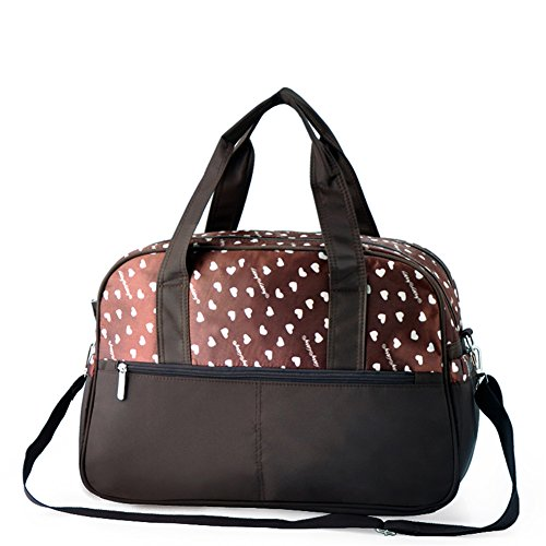 Samber Mama Handtasche Multifunktionswindel Taschen Baby Pflege Kinderwagen Tasche Umhängetasche Grau