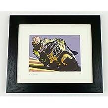 Valentino Rossi Póster de edición limitada firmada