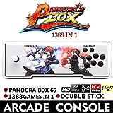 1388 Retro Pandora Box 6S Arcade consola de juegos Double Stick Cabinet TV Fighter Oshide