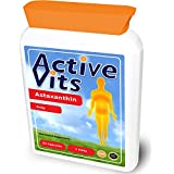 ActiveVits Astaxanthine 4mg 60 Capsules Pour les Yeux et Système Nerveux