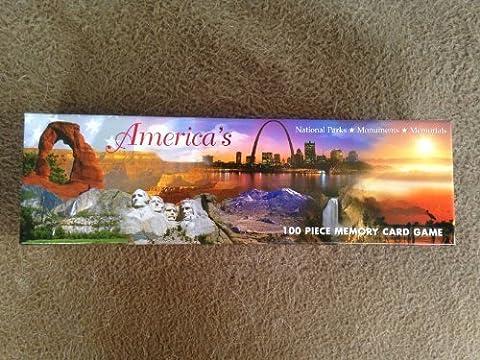 America's National Parks, Monuments, & Memorials - 100 Piece Memory