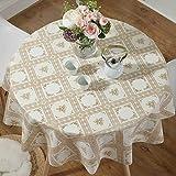 WY- tablecloth Tischset tischdecke wasserdicht haushalts tischdecke Durchmesser 100 cm Runden Tisch für 40-60 cm