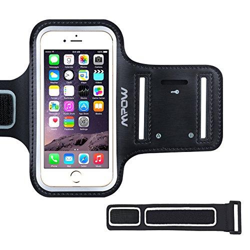 Sportarmband iPhone, Mpow Armband Handy mit Schlüsselhalter, Verlängerungsband und Reflekltierendes Band für iPhone 7/6/6S,HTC ONE/M7,iPhone 5/5s/sebis 4.7 Inch
