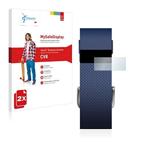 2X Bildschirmschutzfolie CV8 von 3M kompatibel mit Fitbit Charge HR Schutzfolie Folie