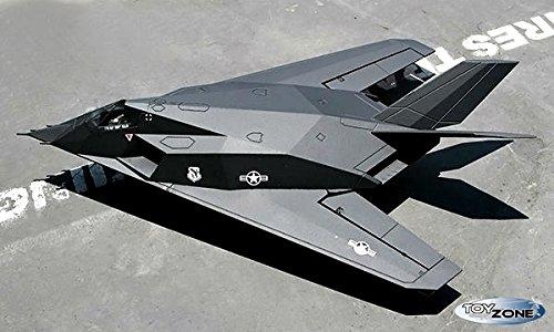 Rc-Flugzeug-F-117-Nighthawk-Tarnkappenflugzeug-Brushless-24-GHZ-100kmh-Flieger-RTF