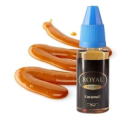E-Liquid Karamell ohne Nikotin für E-Zigarette 12ml Inhalt von Royal Liquids