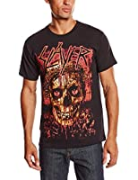 Slayer Herren T-Shirt Crowned Skull