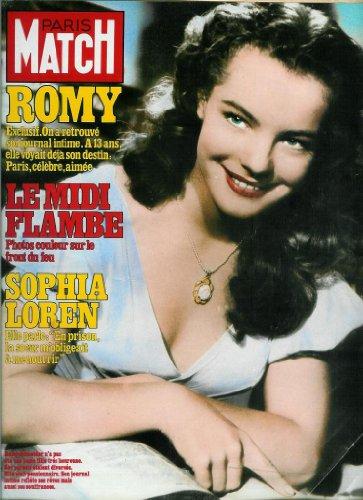 Paris Match - n1732 - 06/08/1982 - Romy Schneider : On a retrouv son journal intime