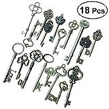 Persönlichkeit Urlaub 18 stücke Vintage Skeleton Schlüssel Dekorative Altmodische Schlüssel für Halskette Armbänder Anhänger Schmuck DIY Machen Lieferungen Party Favors Party bevorzugt Dekorationen