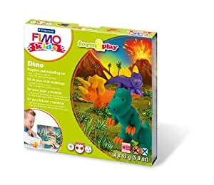 Staedtler 8034 07 LY - Fimo kids Form & Play Dino, Level 2 [Spielzeug]