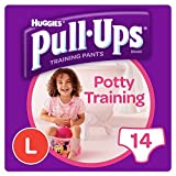 Huggies Pull Ups Girl Large Size L 14 Pack