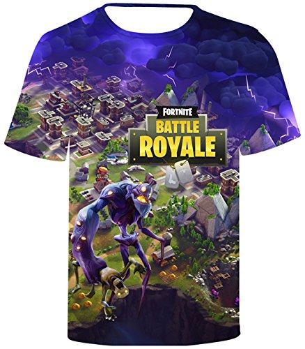 Seraphy 2018 nuovo arrivo unisex magliette 3d stampa fortnite t-shirt per uomo/donna q194 xs