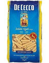 De Cecco Pasta, Sedani Rigati - 1000 g