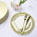 Yzeo 150serviettes en papier jetables décoratives pour cuisine, salle de bains,...