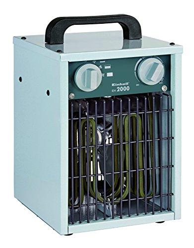 elektrisches heizgeblaese Einhell Elektro Heizer EH 2000 (2000 Watt, 3 Heizstufen, Thermostat, Spritzwasserschutz, Tragegriff, robustes Gehäuse)