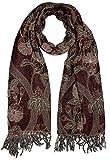 Lorenzo Cana - Luxus Herren Schal Schaltuch aus weicher Wolle Paisleymuster mehrfarbig 70 cm x 190 cm Wollschal Wolltuch 7839911