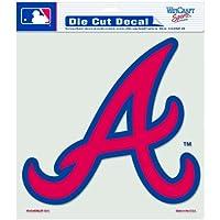 Atlanta Braves Die-Cut Decal - 8ft x8ft Color