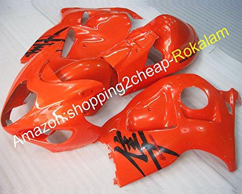 Hot Sales, Carénage Hayabusa Gsxr-1300 99 00 01 02 03 04 05 06 07 Gsx-r1300 GSXR 1300 Rouge Carénages (Moulage par injection)