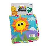 Lamaze Baby Spielzeug Entdeckungsbuch Clip & Go - hochwertiges Kleinkindspielzeug - Baby Buch Anhänger zur Stärkung der Eltern-Kind-Beziehung - ab 0 Monate
