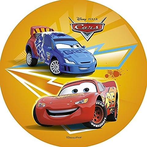 Tortenaufleger Cars Oblate 4 Motive zur Auswahl (Motiv 3)