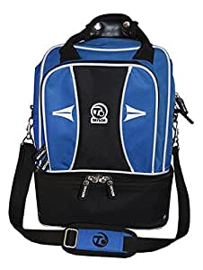 Taylor Bowls Double Decker Bowling Bag (Blue): Amazon.co