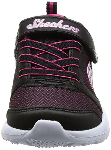 Skechers Mädchen Skech-Stepz Sneakers Schwarz (Bkhp)