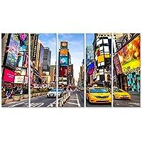 Cuadro Cuadros NUEVA YORK - DIC 01 Times Square, es un cruce muy turística Impresión