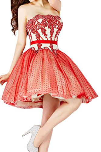 Missdressy - Robe - Femme Rouge - Rouge