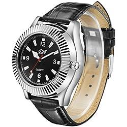 inkint ® Unisex Sportliche Armbanduhr Quarzuhr mit USB aufladbare elektronische flammenlose Zigarettenanzünder Windproof
