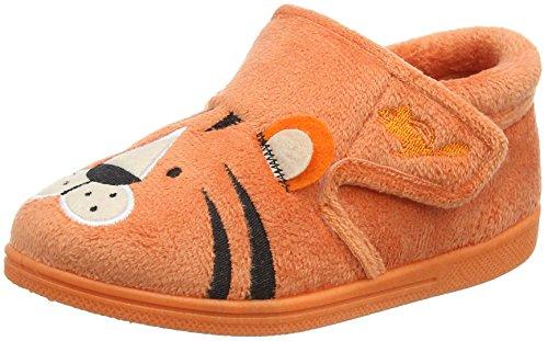 Chipmunks Jungen Tommy Hausschuhe Orange (Orange 811)
