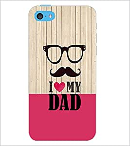 PrintDhaba Quote D-3565 Back Case Cover for APPLE IPHONE 5C (Multi-Coloured)