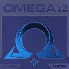 Xiom Omega VII 7 Euro (by TableTennis'R'Us) - Offensive Table Tennis Rubber - MAX Thickness