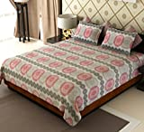 Amethyst Circular Cotton Double Bedsheet...