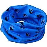 Kinder Cottton Halswärmer Schlauchschal Tube Schlauchschal Rundschalmodelle Loopschal in verschiedenen Farben (Tiefes Blau(Jungen-Bärn-Muster))
