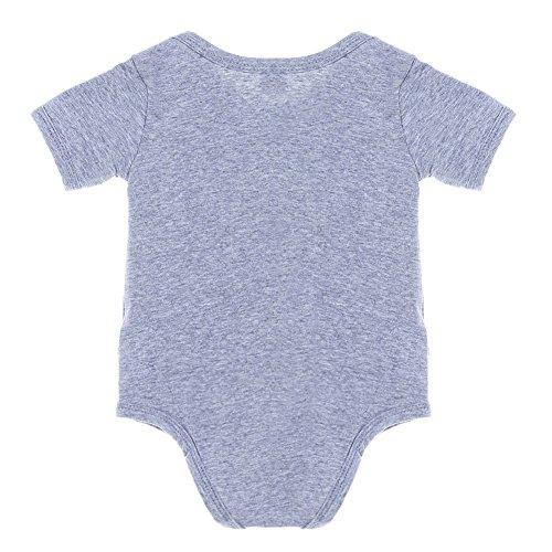 Newborn Boy Girl Print Short Sleeve Triangle Rompers (100)