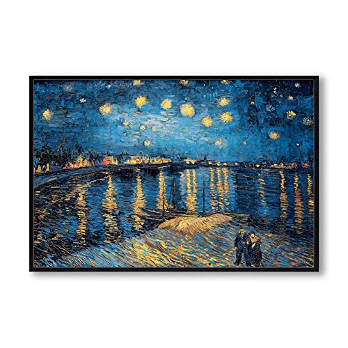 Poesía elegante Noche estrellada Vincent van Gogh