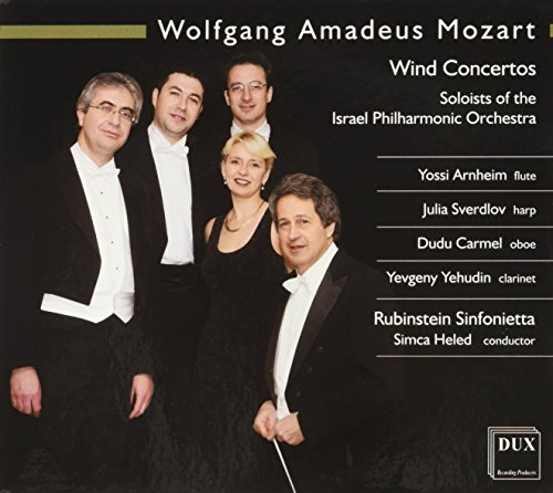 Konzert Fuer Floete & Harfe Kv299, Konze