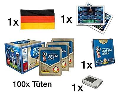 Deutsche Ausgabe XXL Set Panini Sticker WM Russland
