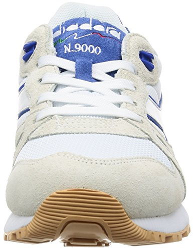 Diadora N9000 Iii White Red White Blue