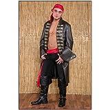 Traje de pirata frock para hombres