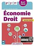Économie - Droit 2de, 1re, Tle Bac Pro (2016) - Pochette élève
